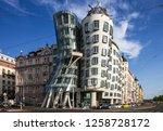 prague  czech republic   dec 15 ... | Shutterstock . vector #1258728172