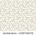pattern with thin straight... | Shutterstock .eps vector #1258749478