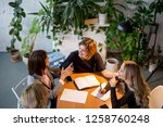 Group Of Female Accountants In...
