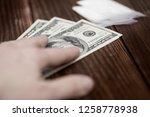 drug trafficking  crime ... | Shutterstock . vector #1258778938