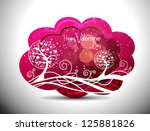 beautiful greeting cards with...   Shutterstock .eps vector #125881826