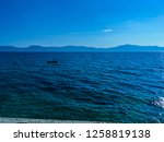 picture of adriatic sea with a... | Shutterstock . vector #1258819138