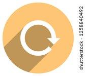 arrow sign reload  refresh ... | Shutterstock .eps vector #1258840492