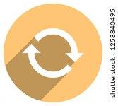 arrow sign reload  refresh ... | Shutterstock .eps vector #1258840495