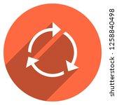 arrow sign reload  refresh ... | Shutterstock .eps vector #1258840498
