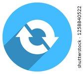 arrow sign reload  refresh ... | Shutterstock .eps vector #1258840522
