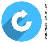 arrow sign reload  refresh ... | Shutterstock .eps vector #1258840525