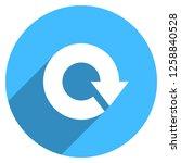 arrow sign reload  refresh ... | Shutterstock .eps vector #1258840528