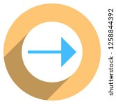 arrow sign direction icon in... | Shutterstock .eps vector #1258844392
