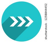 arrow sign direction icon in... | Shutterstock .eps vector #1258844452
