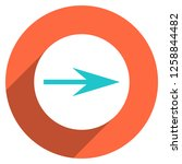 arrow sign direction icon in... | Shutterstock .eps vector #1258844482