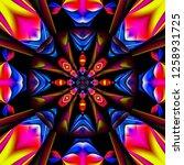 3d render of plastic background ...   Shutterstock . vector #1258931725