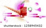abstract vector background dot... | Shutterstock .eps vector #1258945432