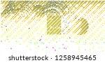 abstract vector background dot... | Shutterstock .eps vector #1258945465
