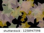 multicolored translucent stars... | Shutterstock . vector #1258947598