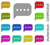 message icon in multi color....