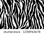 Pattern Background Of Animal...