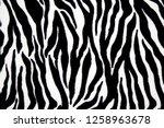 pattern background of animal... | Shutterstock . vector #1258963678