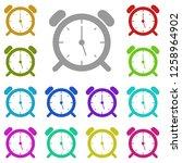 wake up clock logo templateicon ...
