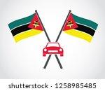 mozambique emblem car dealer | Shutterstock .eps vector #1258985485