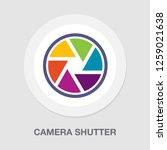 camera shutter icon | Shutterstock .eps vector #1259021638