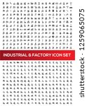 industrial and factory vector... | Shutterstock .eps vector #1259065075