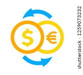 money exchange icon | Shutterstock .eps vector #1259073232