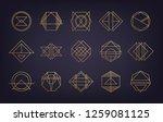 vector purple liquid color... | Shutterstock .eps vector #1259081125