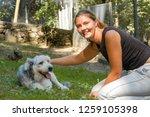 lugano  switzerland   11... | Shutterstock . vector #1259105398
