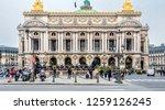 paris  france   december 15 ...   Shutterstock . vector #1259126245