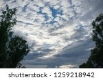 overcast cloudy in the morning. | Shutterstock . vector #1259218942