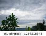 overcast cloudy in the morning. | Shutterstock . vector #1259218945