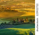 landscape in tuscany | Shutterstock . vector #125922722