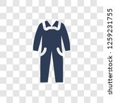 overall icon. trendy overall...   Shutterstock .eps vector #1259231755