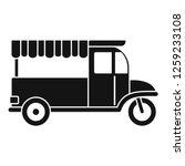 food bike icon. simple... | Shutterstock .eps vector #1259233108