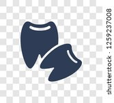 wisdom tooth icon. trendy... | Shutterstock .eps vector #1259237008