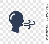breath icon. trendy breath logo ... | Shutterstock .eps vector #1259244418