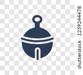 sleigh bell icon. trendy sleigh ... | Shutterstock .eps vector #1259244478