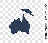 australian continent icon....   Shutterstock .eps vector #1259248855