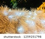 blurry christmas decorations | Shutterstock . vector #1259251798