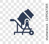 cement mixers icon. trendy...   Shutterstock .eps vector #1259267305