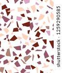 seamless pattern vertical... | Shutterstock .eps vector #1259290585