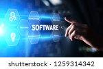software development and... | Shutterstock . vector #1259314342