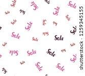 light pink  red vector seamless ...   Shutterstock .eps vector #1259345155