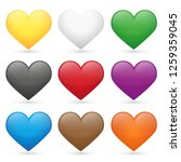 Heart Love Emoji Icon Object...