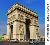 october 31  2017  paris  france ... | Shutterstock . vector #1259396995