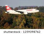 kloten  zurich  switzerland  ... | Shutterstock . vector #1259398762
