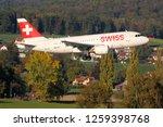 kloten  zurich  switzerland  ... | Shutterstock . vector #1259398768