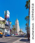 hollywood  california  usa  ... | Shutterstock . vector #1259456518