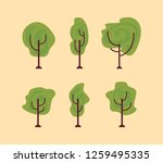tree nature forest | Shutterstock .eps vector #1259495335